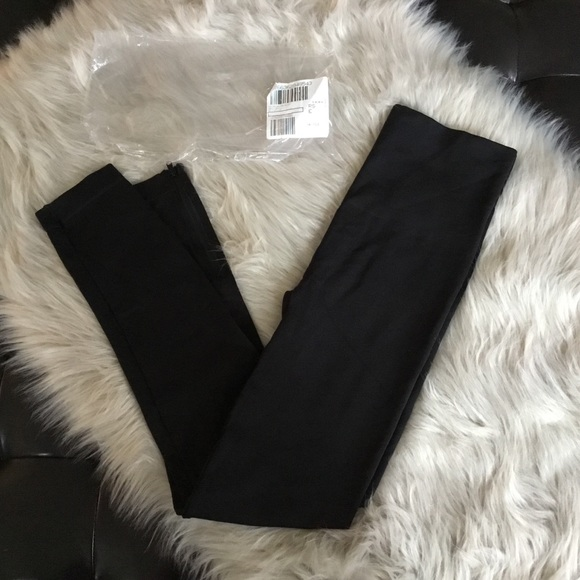 15f0527e4 Spanx Seamless Side Zip Leggings Black Large NIP